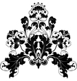 floral antique designs vector image