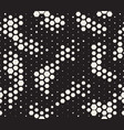 halftone pattern snake skin style seamless vector image