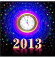 high points on the eve of 2013 vector image