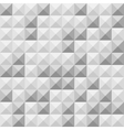 Seamless grey square tiles pattern vector image