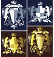 coat of arms heraldry vector image