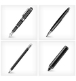 drawing pen vector image vector image