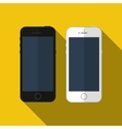 smartphone similar to iphone mockup vector image