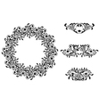 Victorian Decorative Element vector image vector image