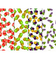 exotic juice packaging design vector image