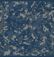navy flectarn camouflage seamless patterns vector image