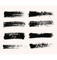 Wide Brush Strokes vector image