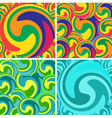 background whirlpools vector image vector image