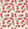 beautiful background with flowers vector image
