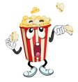 A popcorn vector image