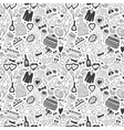wedding - seamless pattern vector image