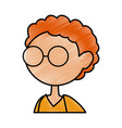 cartoon boy icon vector image