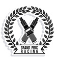 Racing design vector image