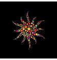 sun shape vector image