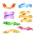 Watercolor Ribbons vector image