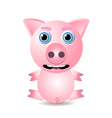pig or piglet vector image vector image