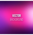 Purple Blurred Background With Halftone Effect vector image