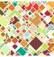 Abstract colored background square design vector image