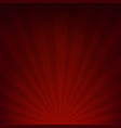 dark red sunburst paper vector image