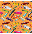 Passenger car background vector image