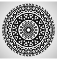 Ethnic ornament on white background vector image