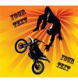 motocross vector image vector image