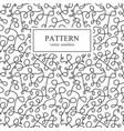 curve seamless pattern in memphis style vector image
