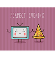 - Perfect evening vector image