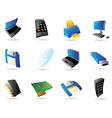 Icons for computer and devices vector image