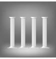 greek columns vector image vector image