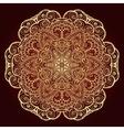 Mandala Ethnic decorative element vector image