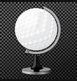 golf boll golf globe isolated over vector image