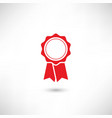 Badge Red vector image