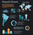 Infographic 3 vector image