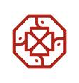 Logo Symbol Letter Set vector image