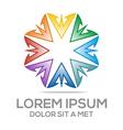 av symbol element logo template vector image