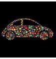 car shape vector image