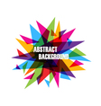 337abstract triangle vector image
