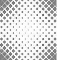 Abstract monochrome square pattern background vector image
