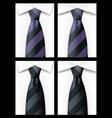 tie backgound vector image