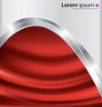 Metal-satin background vector image vector image