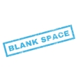 Blank Space Rubber Stamp vector image