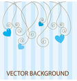 cute abstract background vector image