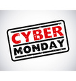 cyber monday deals vector image