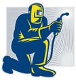 welder fabricator vector image vector image
