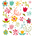 Happy Spring card vector image