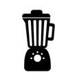 black blender graphic design vector image