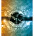 Retro deisgn disco flye vector image vector image