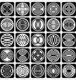 fancy design elements vector image vector image