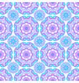 seamless pattern round mandalas vector image